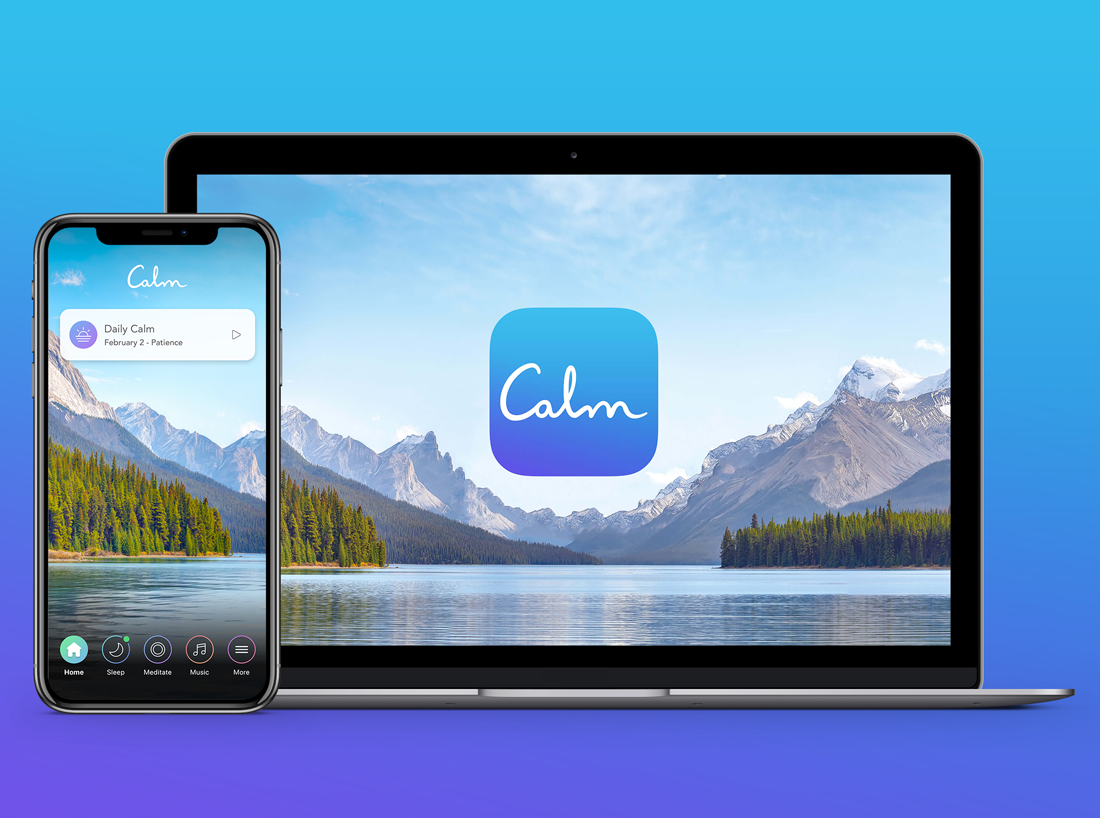 Harvard-Westlake Mindfulness Club recommended app: Calm