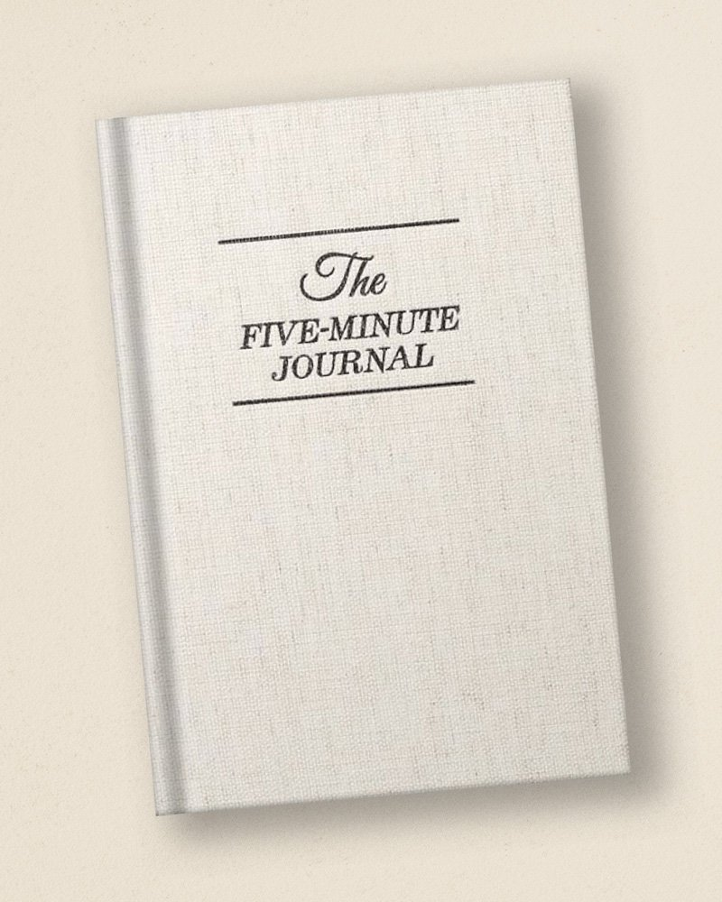 Harvard-Westlake Mindfulness Club Recommended Book: Five Minute Journal
