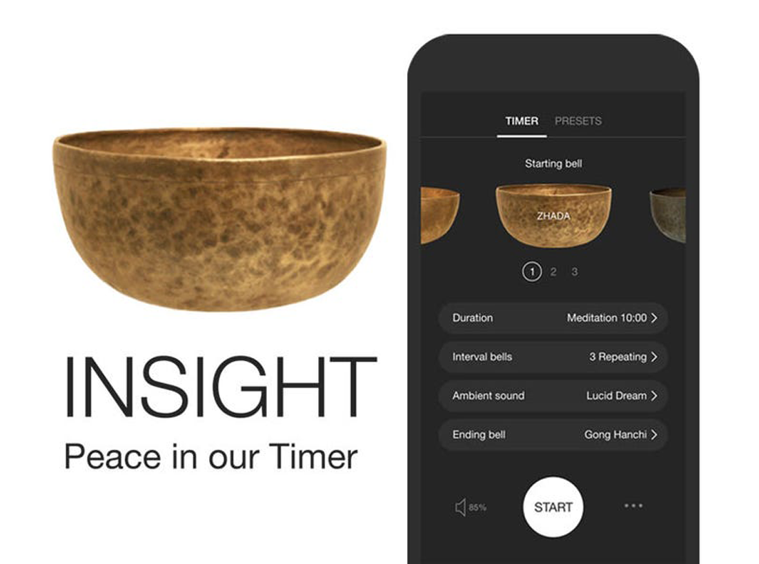 Harvard-Westlake Mindfulness Club recommended app: Insight Timer
