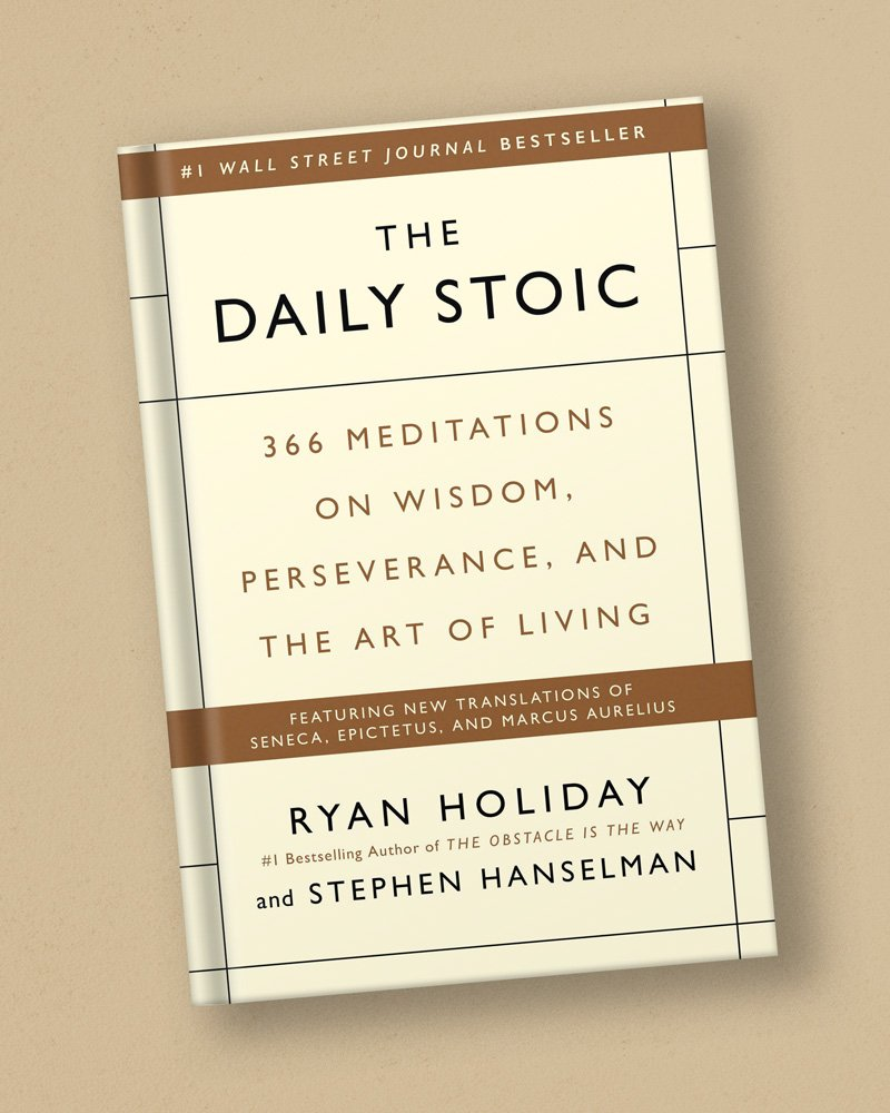 Harvard-Westlake Mindfulness Club Recommended Book: The Daily Stoic